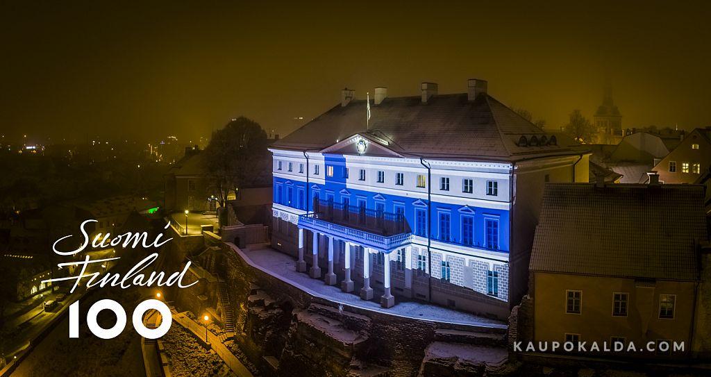 Suomi 100 - paljon onnea rakkaille suomalaisille ystäville!