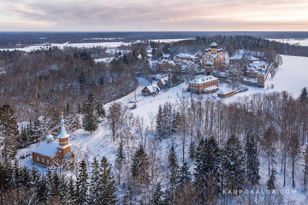 Kuremäe kloostri talvevaikus